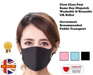 Face Mask Reusable Children/Adults Rapid Dispatch - Various Styles