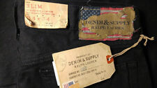 Ralph Lauren Denim & supplies men's black jeans W34 x L34 - Slim Fit