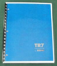 Drake TR-7 Operating Manual - Premium Card Stock Covers & 32lb Paper!