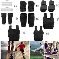 Loading Weighted Ankle Band/Vest/Steel Plates Running Exercise Training Fitness
