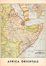 C4747) WW ETIOPIA, GEOGRAFICA, AFRICA ORIENTALE.