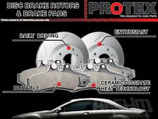 Protex Rear Brake Rotors & Ultra Pads FOR Nissan Elgrand E51 Infiniti Q50 V37