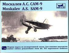 Prop N Jets Models 1/72 MOSKALEV A.S. SAM-9 Experimental Delta Wing Aircraft