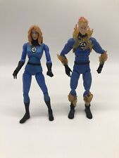 Marvel Legends Invisible Woman and Human Torch 2-Pack Hasbro 2008 Classic Colors