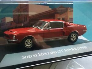 Shelby MUSTANG GT 500-KR. 1968.  1/43. American cars