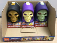 Lot Of 3 NEW SEALED Mega Construx Masters Of The Universe Skeletor Heads MOTU