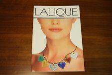 Lalique Univers 1997 Bijou plumes Jewels Handbags Purses Decanter Vase Horse