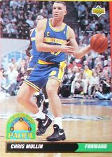 CARTE DE COLLECTION NBA BASKET BALL 1993  ALL DIVISION TEAM CHRIS MULLIN (51)