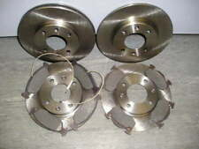 CITROEN SAXO 1.6 VTR VTS FRONT AND REAR BRAKE DISCS AND PADS (1996-2003)