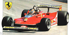 1979 FERRARI 312 T4 F1 FORMULA One SPEC SHEET/Brochure