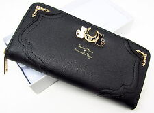 US Sailor Moon Luna Tsukino Usagi 20yrs Anniversary Black Women Bag Purse Wallet