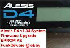 Alesis D4 OS v1.04 EPROM Firmware Upgrade KIT