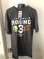 Majestic Men's XL Nba Finals Shirt Gray Warriors Cavaliers New Basketball
