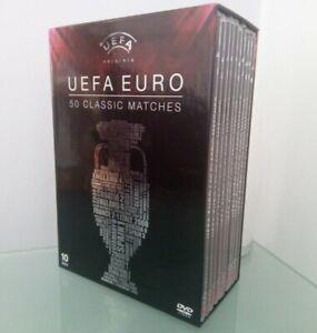 UEFA EURO - 50 Classic Matches [DVD] - DVD - England Euro 96