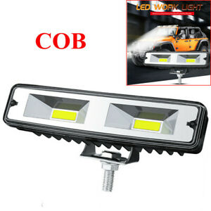9-30V 48W Car LED Work Light Flood Spot Beam Offroad Boat Driving Fog Lamp 6000K
