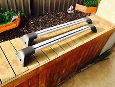 2x New Aerodynamic Cross bar / Roof rack for subaru liberty wagon 2009 - 2015