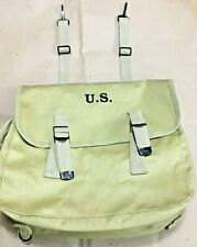 """WWII US M1936 Musette Bag """"RUBBERISED"""" (REPRO)"""
