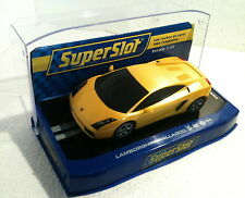 qq H 2810 SUPERSLOT LAMBORGHINI GALLARDO JAUNE ROAD CAR - Scalextric RU