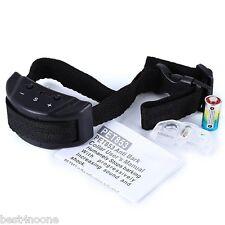 Electric Remote Control Anti Bark Collar No Shock Pet Dog Training Necklace