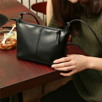 Women Handbag Large Capacity PU Leather Shoulder Messenger Casual Square Bag