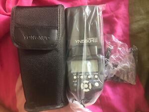 Yongnuo Digital SpeedLite Flash YN560 III, 2.4G, With Case - No Box Or Instructi