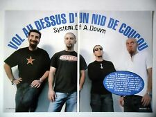 COUPURE DE PRESSE-CLIPPING :  SYSTEM OF A DOWN [6pages] 01/2003 John Dolmayan