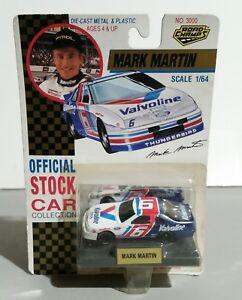 New Nascar 1992 MARK MARTIN VALVOLINE #6 Ford Thunderbird 1/64 scale Road Champs
