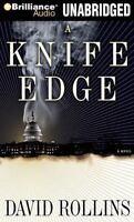 Knife Edge 2 by David A. Rollins (2009, CD, Unabridged)