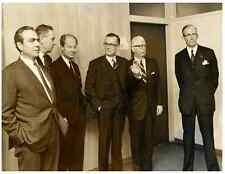 Germany, Bonn, M. François-Xavier Ortoli, Baron de Snoy, K. Wickman Vintage .  K