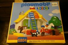 Playmobil 1 2 3 Animal Barn Farm Set Suitable from 18 Months