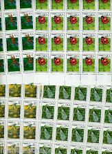 China Prc Insects Lot Of 50 Scott#22393/96 Mint Nh