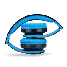 EXCELVAN Folding Wireless Bluetooth LED Stereo Headphones Headsets Heavy Bass