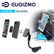 Eugizmo Car Magnetic Phone Holder Mount Stand with USB Charger for Smart Phones