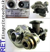 TURBOCOMPRESSORE Garrett 24442214 OPEL ASTRA VECTRA ZAFIRA 2,0 di originale