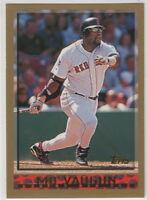 1998 Topps Baseball Boston Red Sox Team Set