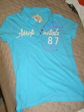 Aeropostale Summer Beach Polo shirt L women New with tags $29.50