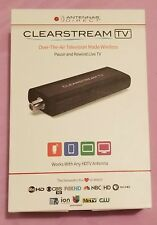 Antennas Direct ClearStream TV Digital Tuner  Over The Air TV made Wireles Black