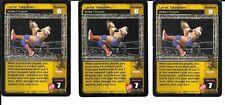 WWE RAW DEAL - 3X Lariat Takedown *FREE SHIPPING* RARE *Playset* Multi