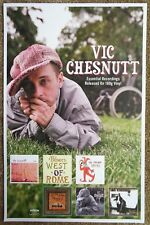 VIC CHESNUTT Album POSTER Essential Recordings 11x17