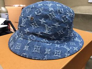 3 Colors Gray Blue Black Denim Bucket Hat