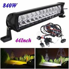 44'' inch CREE LED Light Bar Driving for Offroad 4WD Truck Ford JEEP Double Row