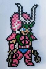 Andromede (Saint Seiya) - Bead sprite perler pixel art - Perles à repasser