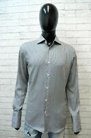 Camicia Uomo Hugo Boss Taglia 41 ( L ) Maglia Manica Lunga Camicetta Shirt Man