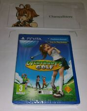 EVERYBODY'S GOLF PSV NUOVO SIGILLATO UK PAL GIOCO SONY PLAYSTATION VITA PS VITA