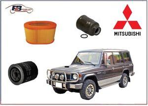 KIT TAGLIANDO MITSUBISHI PAJERO II 2500cc dal 1990 al 2000 I° TIPO FILTRI