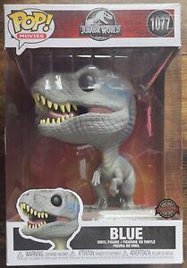 Jurassic World Blue Funko Pop! Vinyl Figure 10 inch 1077 Velociraptor Exclusive