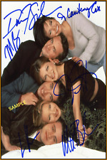4x6 SIGNED AUTOGRAPH PHOTO REPRINT of Cast of Friends #TP