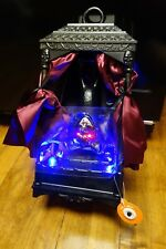New GEMMY Bat Lantern Animated Moving Wings Light up Eyes Haunted Halloween Prop