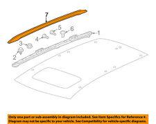 Acura HONDA OEM MDX Roof Rack Rail Luggage Carrier-Rail Cover Left 75262TZ6C01