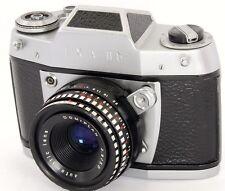 EXA IIb 35mm SLR Camera by Ihagee Dresden + Meyer-Optik Domiplan 50mm F2.8 Lens